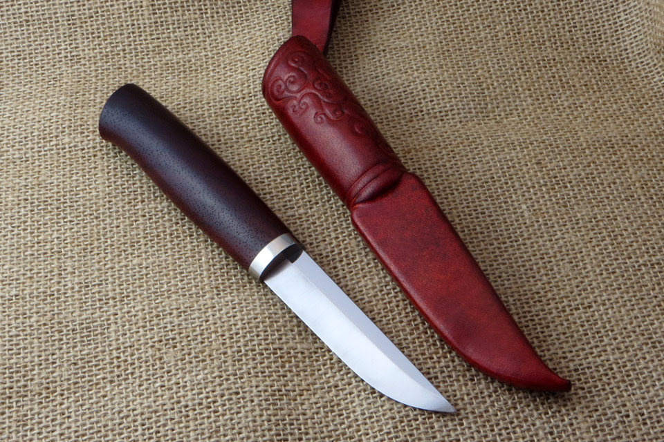 Lady's puukko - with sheath